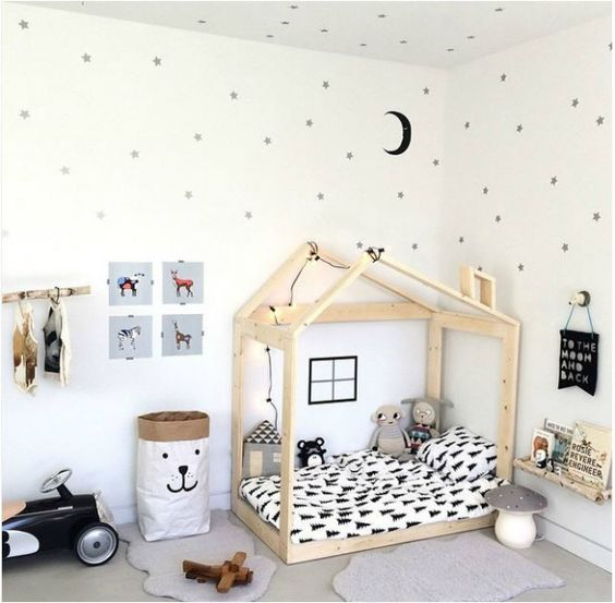 Casitas de madera para dormitorio infantil tendencias | Mind Made